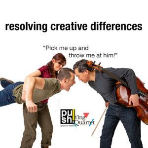 push! Ying Quartet 'resolving creative differences' Promo Image